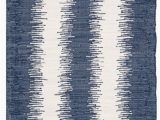 5ft by 7ft area Rug Montauk Nelson Dark Blue 5 Ft X 7 Ft area Rug