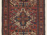 5ft X 7ft area Rug Antique southern Central Caucasian Eagle Kazak Chelaberd