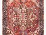 5ft X 7ft area Rug Surya Home Amelie area Rug Size 5ft 3in X 7ft 3in Red