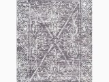 5ft X 8ft area Rug Nuloom Vintage Laurine Rug 5ft X 8ft Grey