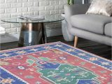 5×7 area Rug Living Room Home & Garden Gray 5×7 area Rug Cotton Handmade Reversible