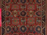 5×7 area Rugs at Lowes Antique Bidjar Rug 5×7
