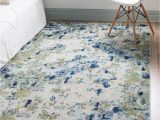 5×8 area Rug In Living Room theia Light Blue 5×8 area Rug In 2020