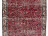 "6 by 10 area Rugs Turkish Vintage area Rug 6 6"" X 10 2"" 78 In X 122 In"