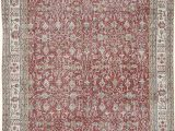 "6 by 10 area Rugs Vintage Turkish Hand Knotted area Rug 6 8"" X 10 8"" 80"
