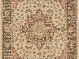 """6 by 7 area Rug Amazon Décor Direct area Rug 6 7"""" X 9 6"""" Ivory"""