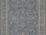 """6 by 7 area Rug Couristan Elegance 4517 0501 Blue 5 6"""" X 7 8"""" area Rug Last One"""
