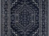 6 Foot by 9 Foot area Rugs Adirondack Winston Navy Ivory 6 Ft X 9 Ft Indoor area Rug