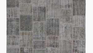 6 X 8 Grey area Rug 6×8 Grey Patchwork Rug 3020