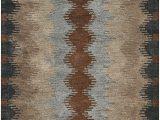 "6 X 8 Grey area Rug Rizzy Home Tumble Weed Loft Collection Wool area Rug 2 6"" X 8 Multi Gray Dark & Light Rust Khaki Light Brown"