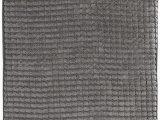 "60 Inch Long Bath Rugs 24""x59"" Memory Foam Extra Long Bath Mat by Lavish Home Woven Jacquard Fleece Platinum"