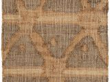 60 X 80 area Rug Rumi Geometric Hand Knotted Brown area Rug