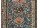 6ft X 10ft area Rug Caucasian soumac 3ft 6in X 10ft 3in Circa 1875 Instead Of