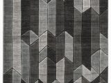 """6×9 Black and White area Rug Chayse 6 6"""" X 9 6"""" Rug Brown"""