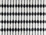 "6×9 Black and White area Rug Novogratz Retro Collection Stockings Shag area Rug 7 6"" X 9 6"" Black"