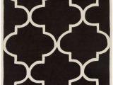 "6×9 Black and White area Rug Santorini Sni 6038 7 6"" X 9 6"" Rectangle area Rug"
