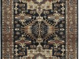 "7 by 10 area Rug Kaleen 7 10"" X 10 0"" area Rug In Navy Mcalester Collection"