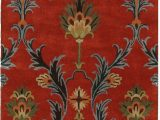 7 by 11 area Rugs 5 0 X 7 11 Red Agra area Rug with Images