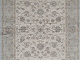 """7 by 11 area Rugs Rugs America Rv100c area Rug 2 7"""" X 4 11"""" Ivory Blue"""