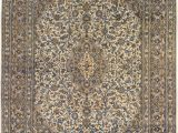 """7 by 12 area Rug E Of A Kind Consuelo Hand Knotted 9 7"""" X 12 5"""" 9 7"""" X 12 5"""" Wool Ivory Brown area Rug"""