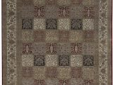 """7 by 12 area Rug E Of A Kind Mountain King Handwoven 12 X 14 7"""" Wool Gray area Rug"""