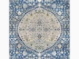 7 by 8 area Rugs 7 8 X 10 25 Floral Patterned Yellow and Navy Blue