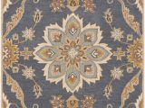 7 X 9 area Rugs Lowes Surya Caesar Traditional area Rug 7 Ft 6 In X 9 Ft 6 In Rectangular Blue