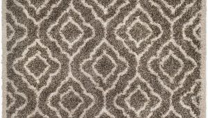 7 X 9 area Rugs Lowes Surya Seren I Shag Shag area Rug 6 Ft 7 In X 9 Ft 6 In Rectangular Taupe