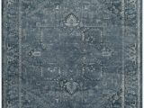 7 X 9 area Rugs Lowes Vintage Lecia Blue 6 Ft 7 Inch X 9 Ft 2 Inch Indoor area