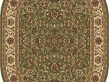 """7 X 9 Oval area Rugs Details About 6×9 Oval Sensation oriental Green Vines Leaves 4815 area Rug Approx 6 7""""x9 6"""""""