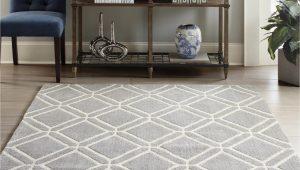 8 10 area Rugs Lowes Allen Roth Shae 8 X 10 Grey Indoor Geometric Mid Century Modern area Rug