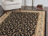8 by 10 area Rugs for Sale 8 X 10 Ivory Gold and Black area Rug Elegance In