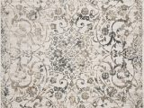 """8 by 13 area Rugs Empire 7064 Ivory Grey Elegance 8 10"""" X 13 area Rugs"""