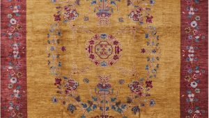 8 by 13 area Rugs Persian Suzani Handmade Wool area Rug 8 X 13 9""