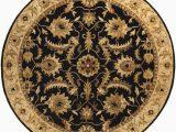 8 Foot Round Black area Rug Artistic Weavers Aurelius Black 8 Ft X 8 Ft Round Indoor