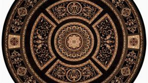 8 Foot Round Black area Rug Home Dynamix Empire Black 8 Ft Indoor Round area Rug 8r