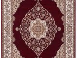 8 Ft by 10 Ft area Rug Details About Turkish Bazaar area Rug Medallion Pattern Emy Red Ivory 8 Ft X 10 Ft