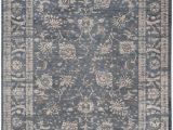 8 Ft by 10 Ft area Rug Vintage Nita Dark Grey Cream 8 Ft X 10 Ft Indoor area