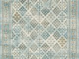 8 Ft Square area Rugs area Rug Vintage Light Blue 5 X 8 Ft St John Collection Rugs Inspired Overdyed Carpet