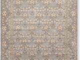 8 X 10 Grey area Rug 8 X 10 William Morris Handmade Wool oriental area Rug 8×10 Gray