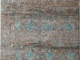 8 X 10 Teal area Rug E Of A Kind Ecco Hand Knotted 1920s Brown 8 X 10 Hemp area Rug