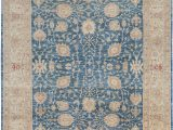 """8 X 12 Blue Rug E Of A Kind Hand Knotted Blue 9 8"""" X 12 5"""" Wool area Rug"""