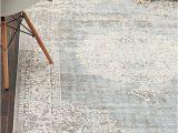 8×10 area Rugs Dining Room Light Blue 8 X 10 New Vintage Rug area Rugs