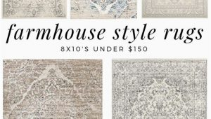 8×10 area Rugs Under $150 Farmhouse Style Rugs Under $150 asiatischerezepte