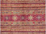 8×10 area Rugs World Market E Of A Kind Auyeung Hand Knotted 2010s Azeri Carmine 8 X 10 Wool area Rug