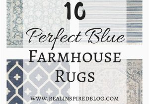 8×10 Farmhouse Style area Rugs 10 Perfect Blue Farmhouse Rugs