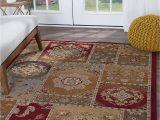 """8×10 Multi Color area Rugs Multi Color oriental Transitional area Rug 8×10 Carpet Actual 7 10"""" X 10 3"""""""