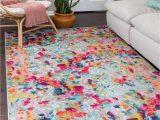 8×10 Multi Color area Rugs Multicolor 8 X 10 Spectrum Rug