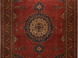 """9 by 9 area Rugs Antique Inspired Ahar Fine area Rug 9 8"""" X 13 9"""""""