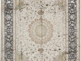 """9 by 9 area Rugs E Of A Kind Walton Hand Knotted Beige 9 X 12 1"""" area Rug"""